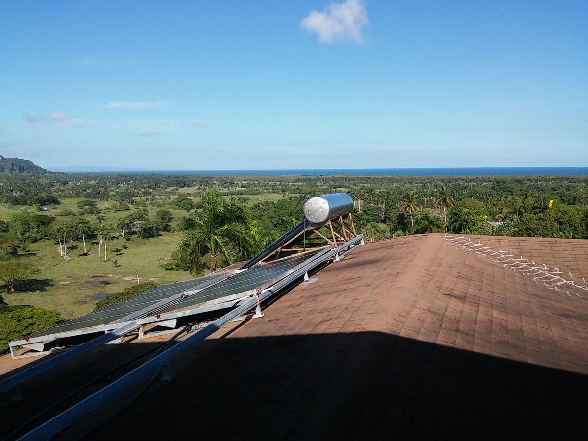 Villa panneaux solaires