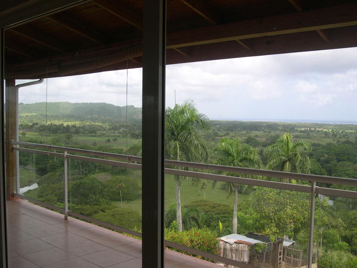 Villa vue veranda